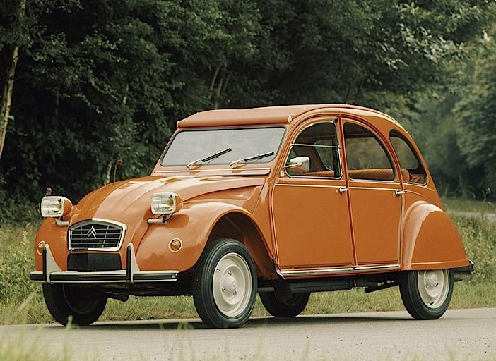 Citroën 2CV4 1975–1978