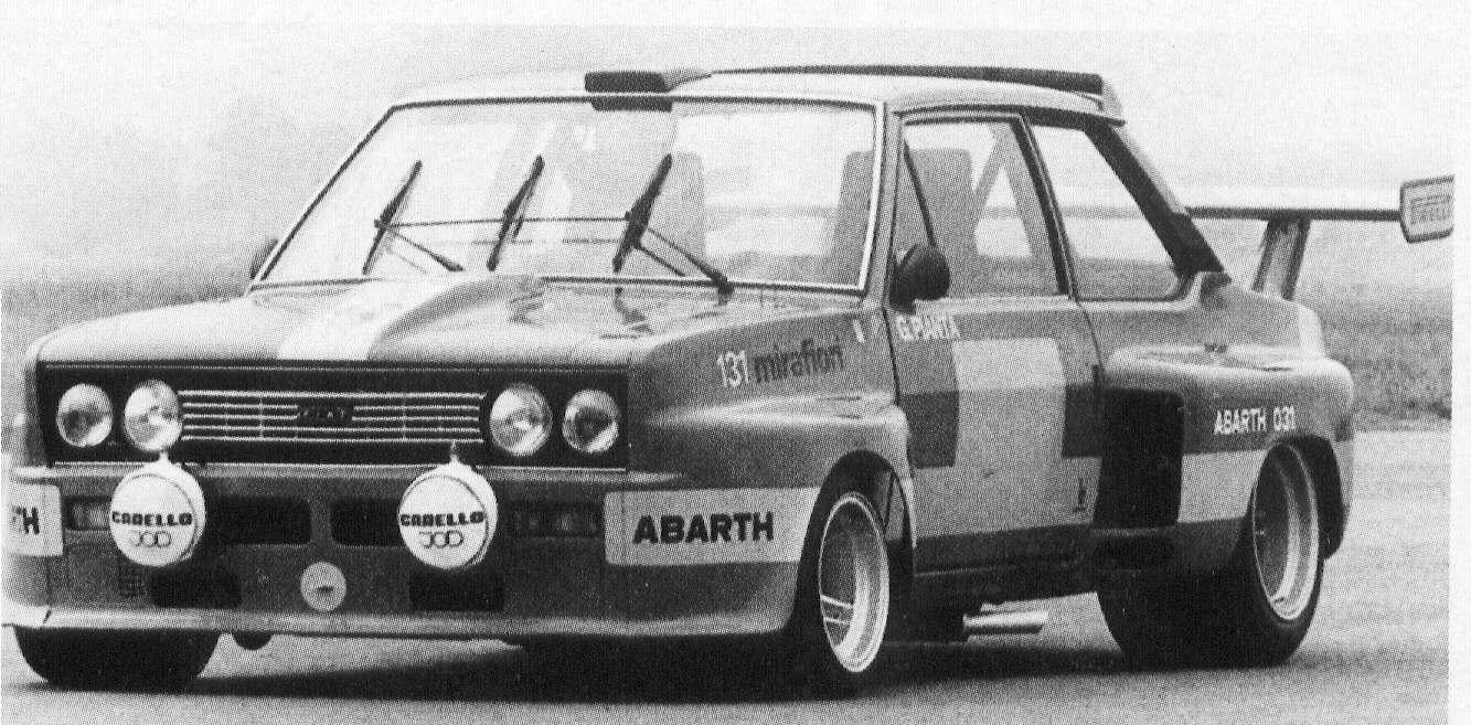 Fiat 131 Abarth Storia Auto Curiosando Anni 70