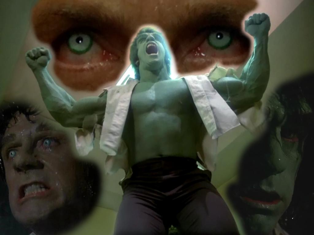 La serie tv dell' incredibile hulk con lou Ferrigno