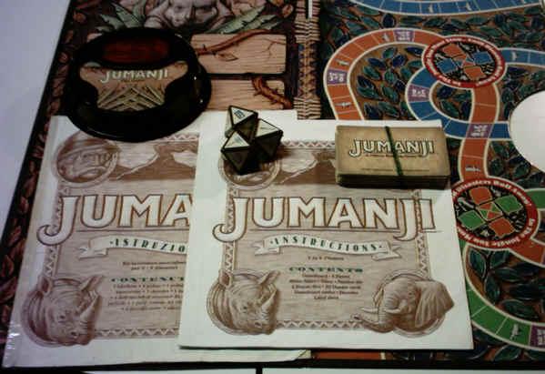 Giochi in scatola giocattoli vintage curiosando nel passatocuriosando negli anni 60 70 80 90 - Jumanji gioco da tavolo ...