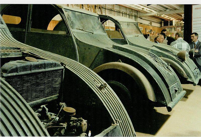 citroen 2cv prototipi