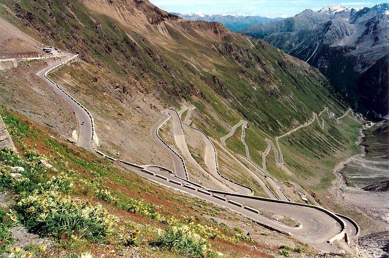 La salita dello Stelvio - Giro d'Italia