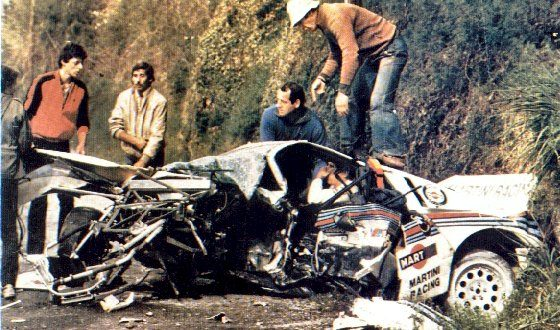 Incidente mortale ATTILIO BETTEGA SU LANCIA 037 – (02/05/1985)
