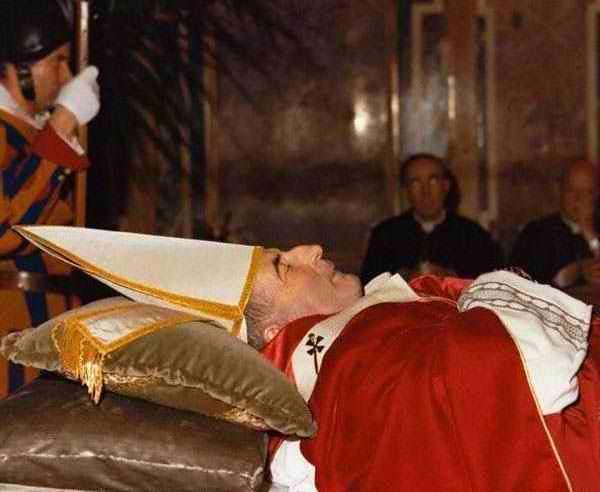 papa luciani morte