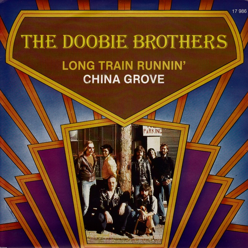 the doobie brothers long train running warner bros copertina