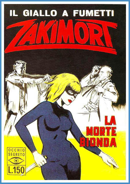 zakimort fumetto nero italiano numero 1