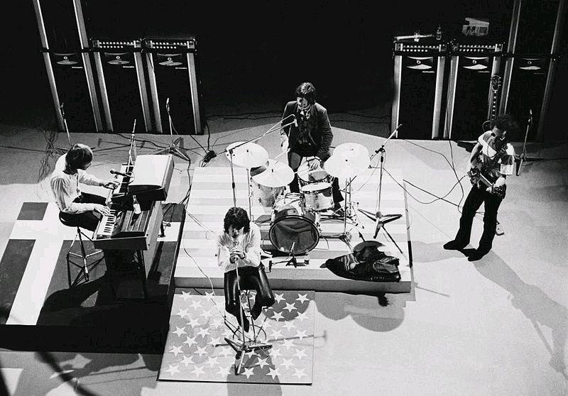 Jim Morrison con The Doors