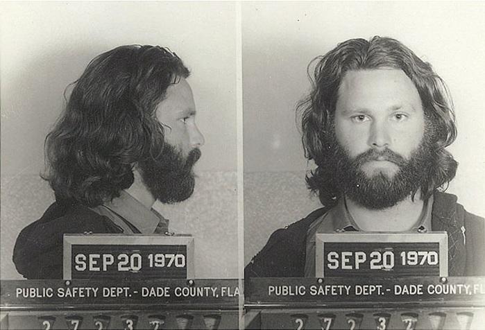 Jim morrison arrestato