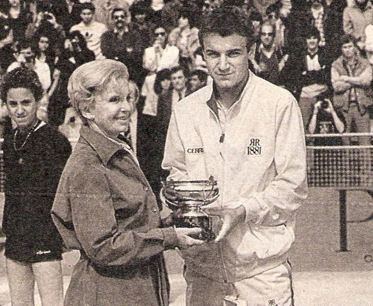 Roland Garros Matswilander