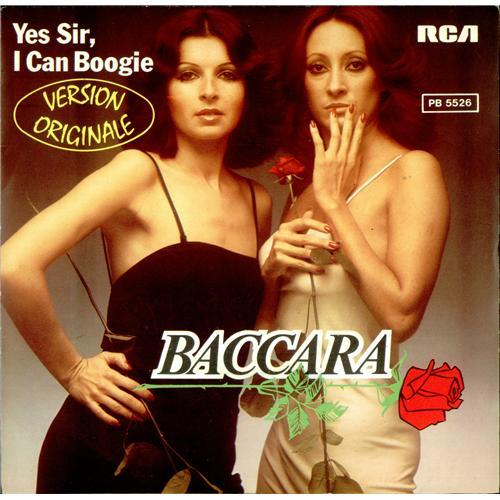baccarà yes i can boogie 1977 copertina 45 giri