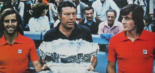 coppa davis vittoria italia 1976