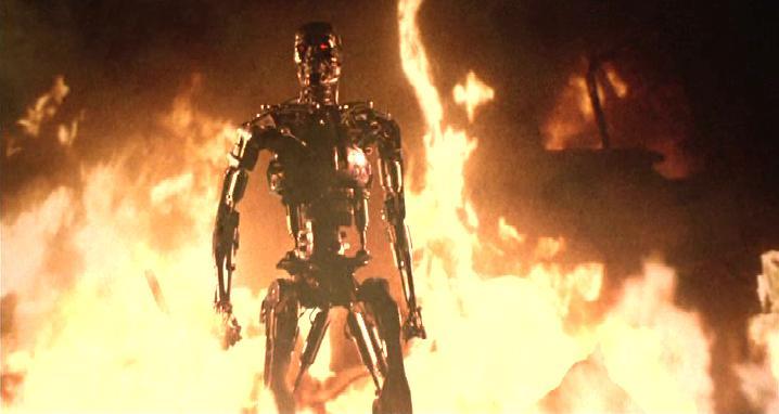 Terminator scena del fuoco