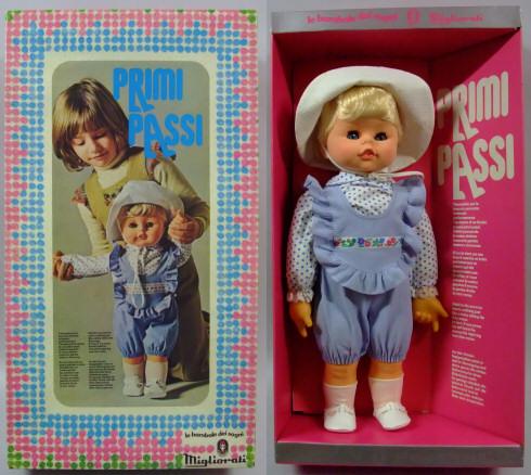 Bambole Migliorati primi passi