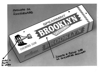 brooklyn bozzetto pacchetto