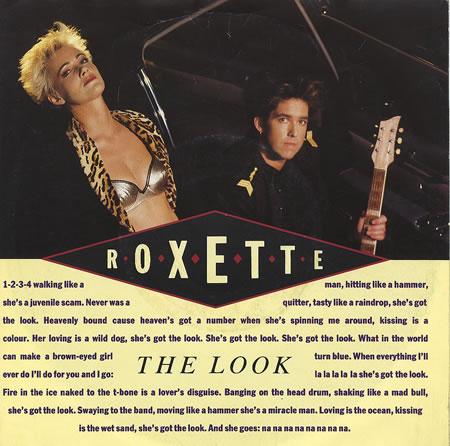 Roxette The Look copertina
