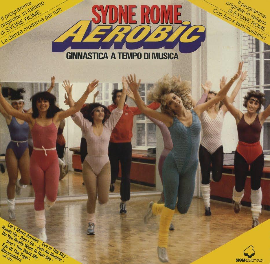 sydne rome aerobic copertina