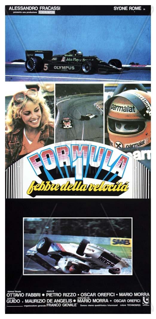 Sidney Rome formula_1_febbre_della_velocita_ locandina