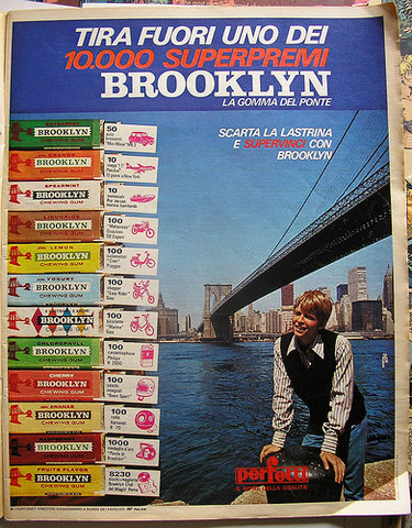 Brooklyn espositore gusti
