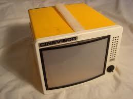 CINEVISOR Videoproiettore e concorrenti – (Anni 70)