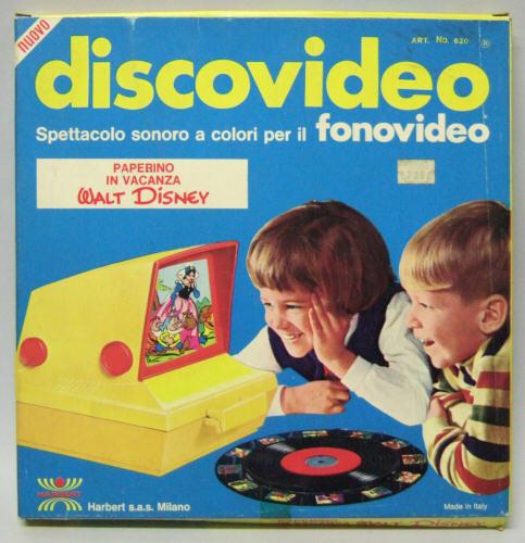 Cinevisor videoproiettore giocattoli vintage curiosando
