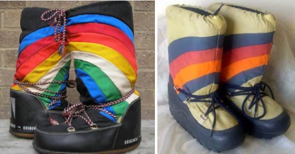 moon boot originali vintage anni 70