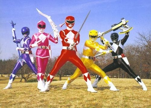 POWER RANGERS – Serie TV – (1993/1996)