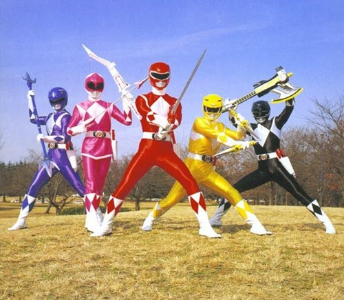 power rangers serie tv