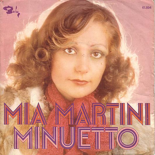45 minuetto Mia Martini