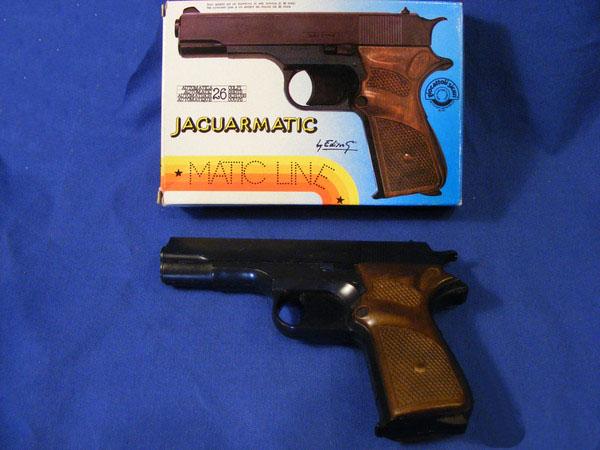 edison pistola jaguarmatic vintage giocattolo
