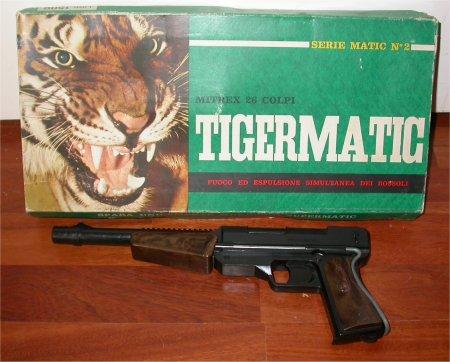edison tigermatic giocattolo vintage confezione