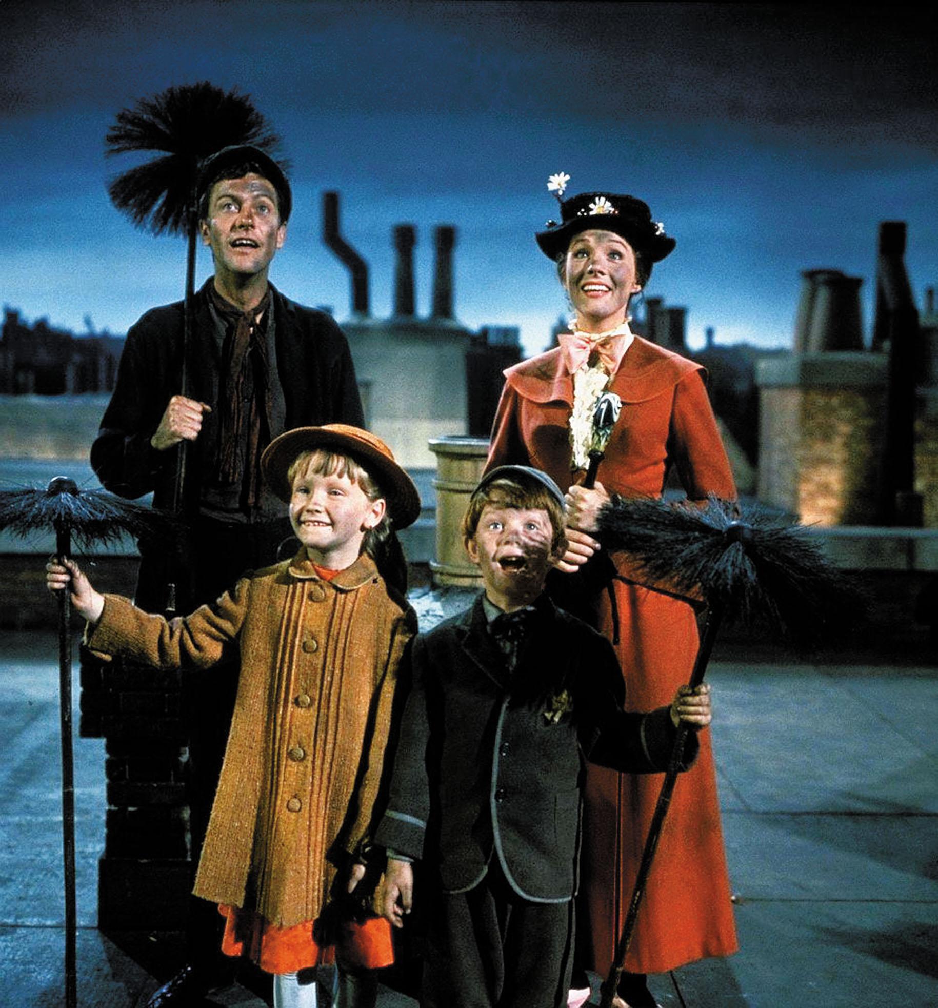 mary poppins 1964 walt disney