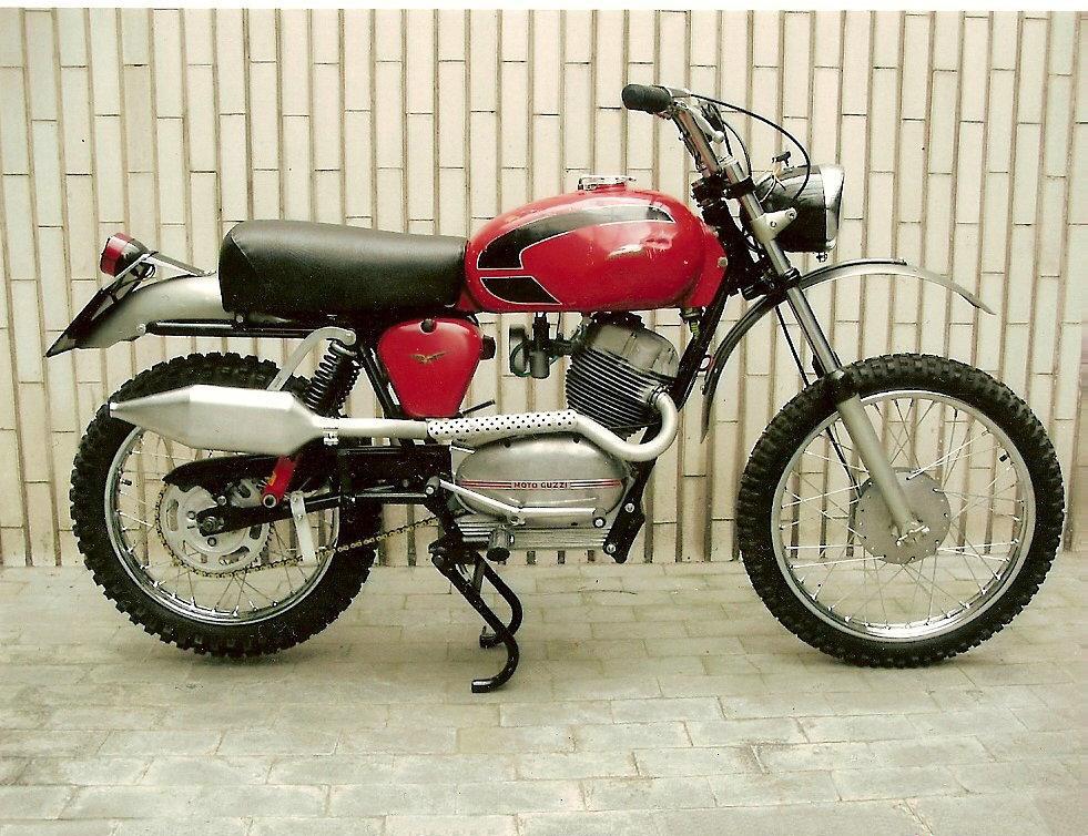 moto guzzi stornello 1960 scrambler
