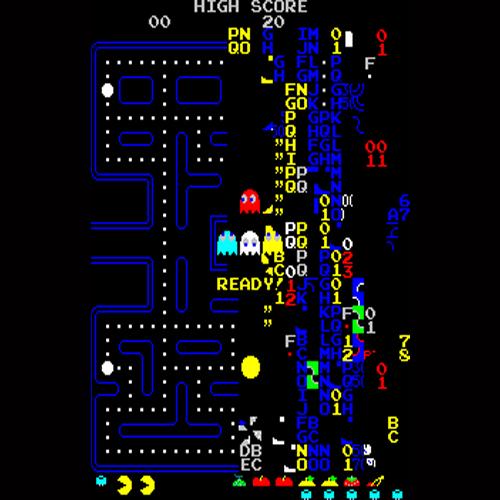 Pac-Man il livello 256 fine gioco