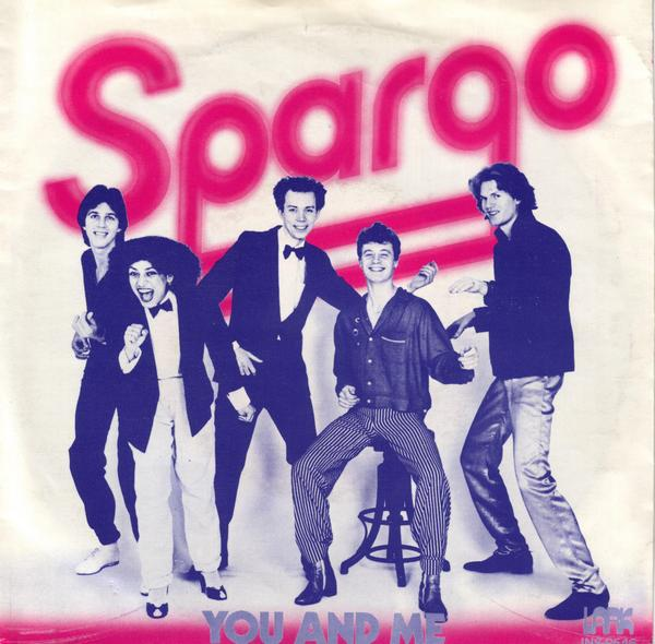 Spargo you and me Cover