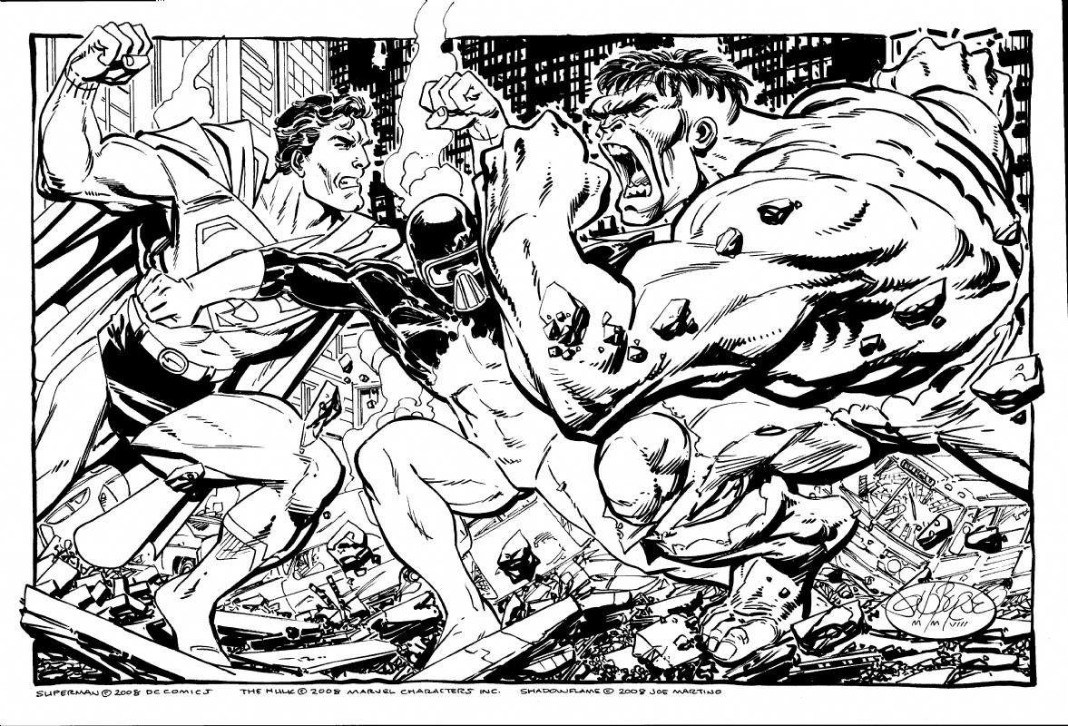 Superman disegno di John Byrne