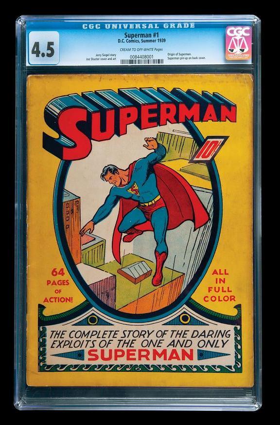 Superman-Comics-No.-1-1939