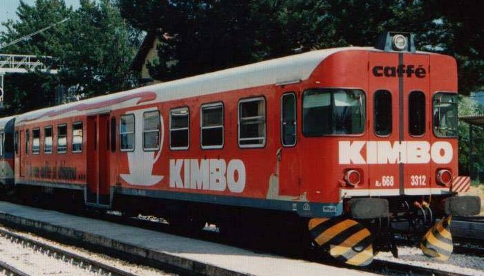 kimbo caffà pubblicità