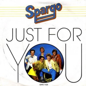 spargo just for you copertina