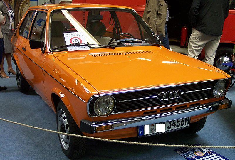 AUDI 50 LS 1974