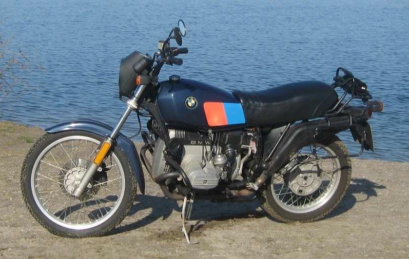 BMW R80 G/S BLU