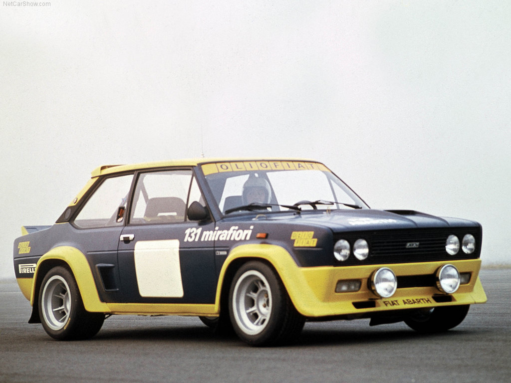FIAT 131 ABARTH RALLY 1976