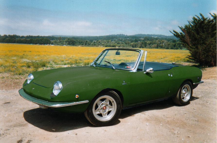 Fiat Spider Verde
