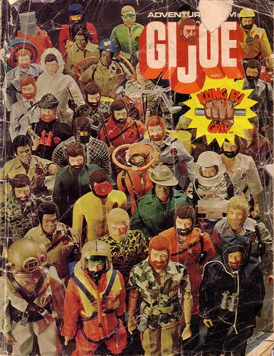g.i. joe confezione vintage catalogo