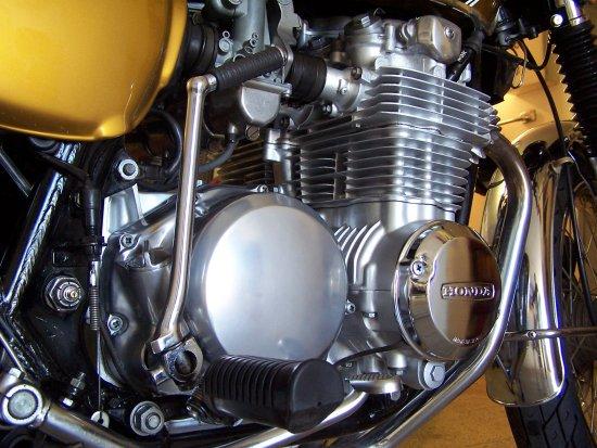 honda cb 500 four motore sound