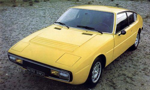 Storia dell'auto: MATRA SIMCA BAGHEERA