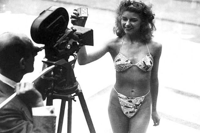 Micheline Bernardini primo bikini