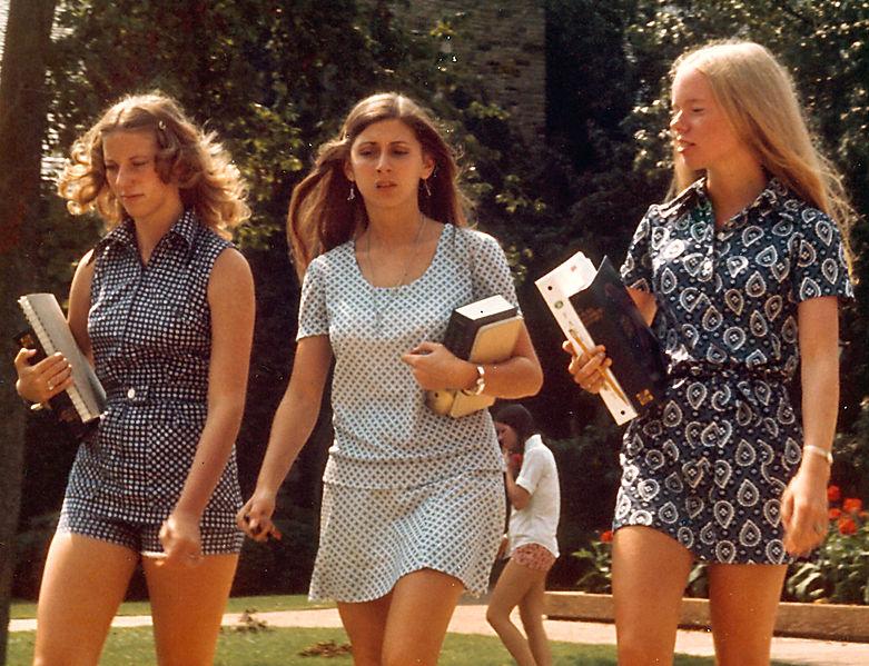 minigonna 1970 anni 70