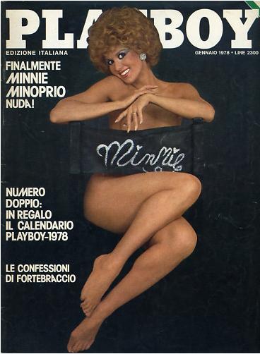 minnie minoprio playboy 1978 seno nuda