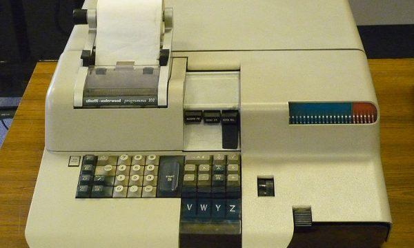 OLIVETTI PROGRAMMA 101 – Il Primo Personal Computer – (1962/1964)