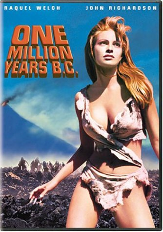 raquel welch locandina one million years bc